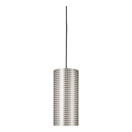 Minka George Kovacs Brushed Nickel 1 Light Mini Pendant from the Grid Collection