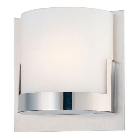 Minka George Kovacs Chrome 1 Light ADA Compliant Wall Sconce from the Convex Collection