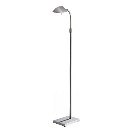 Minka George Kovacs Matte Brushed Nickel 1 Light Swing Arm Floor Lamp from the Wah-Hoo Collection