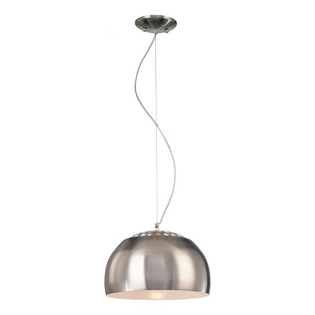 Minka George Kovacs Brushed Nickel 1 Light Full Sized Pendant from the Canna Collection