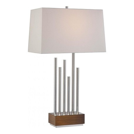 Minka-Lavery Ambience Table Lamp With Polished Nickel Finish