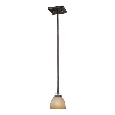 Minka-Lavery Iron Oxide 1 Light 6In. Height Indoor Mini Pendant From The Lineage Collection