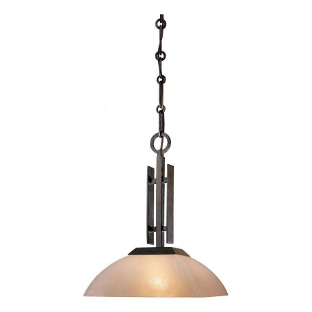 Minka-Lavery Iron Oxide 1 Light Indoor Full Sized Pendant From The Lineage Collection