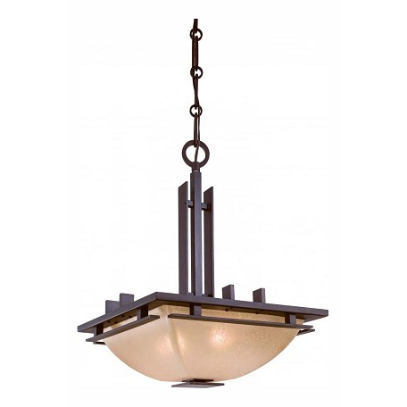 Minka-Lavery Iron Oxide 2 Light Indoor Full Sized Pendant From The Lineage Collection