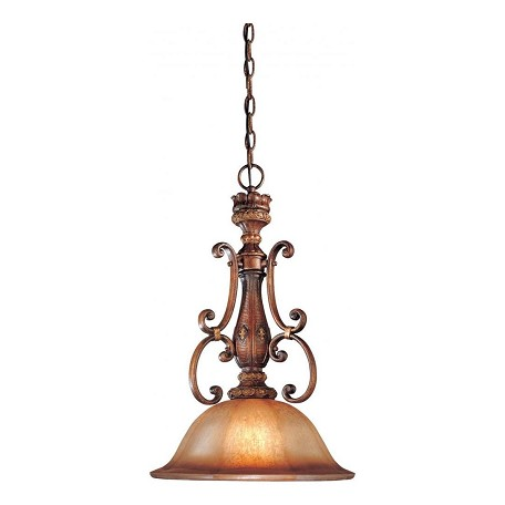 Minka-Lavery 1 Light Illuminati Pendant With Bronze Finish