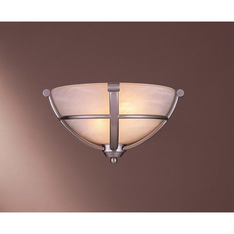 Minka-Lavery Brushed Nickel 1 Light Wall Washer Wall Sconce From The Paradox Collection