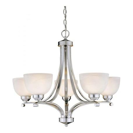 Minka-Lavery 5 Light Brushed Nickel Chandelier