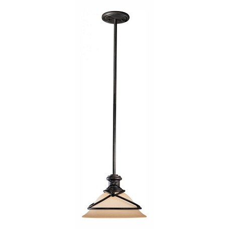 Minka-Lavery Aspen Bronze 1 Light Indoor Full Sized Pendant From The Aspen Ii Collection