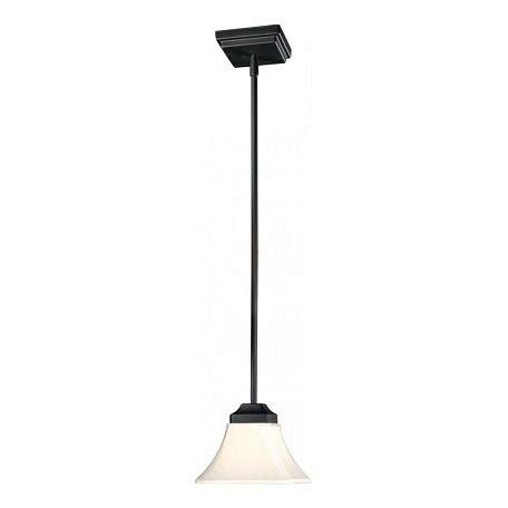 Minka-Lavery Black 1 Light Indoor Mini Pendant From The Agilis Collection