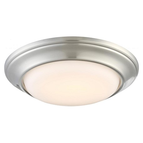 Minka-Lavery Brushed Nickel Recessed Trim Ceiling Fixture From The Nouveau Collection