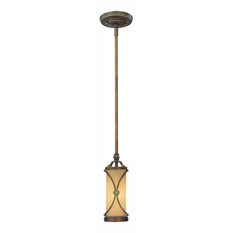 Minka-Lavery Deep Flax Bronze 1 Light Indoor Mini Pendant From The Atterbury Collection