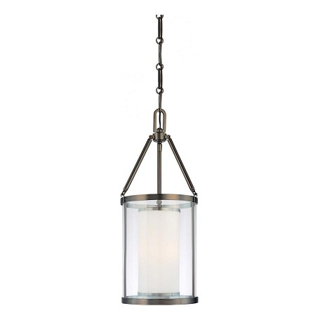 Minka-Lavery 3 Light Pendant In Harvard Court Bronze Finish