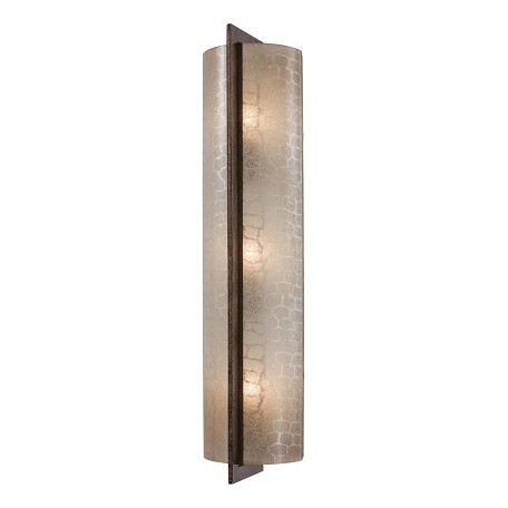 Minka-Lavery Patina Iron 3 Light Ada Wall Sconce From The Clarte Collection