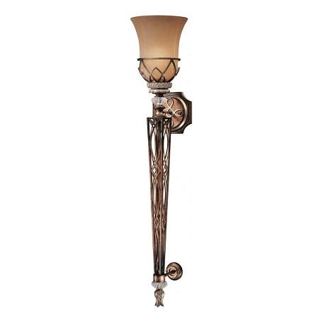 Minka-Lavery 1 Light Wall Sconce With Aston Court Bronze Finish
