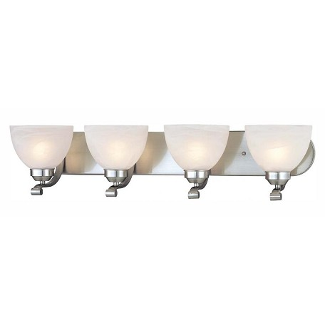 Minka-Lavery 4 Light Brushed Nickel Bath Light
