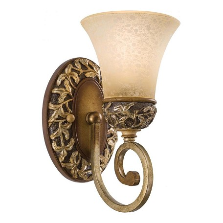 Minka-Lavery Florence Patina 1 Light Wall Sconce From The Salon Grand Collection