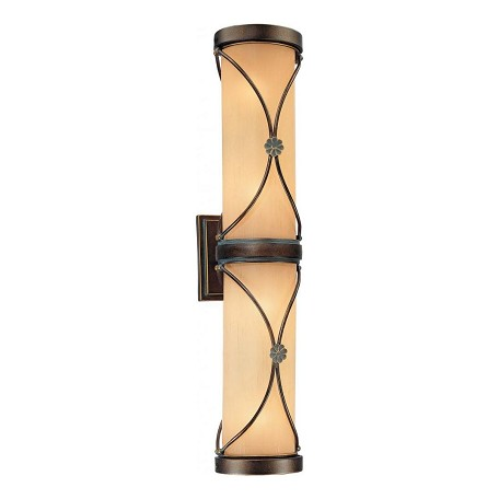 Minka-Lavery Deep Flax Bronze 4 Light Bathroom Bath Bar From The Atterbury Collection