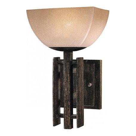Minka-Lavery Iron Oxide 1 Light Bathroom Sconce From The Lineage Collection