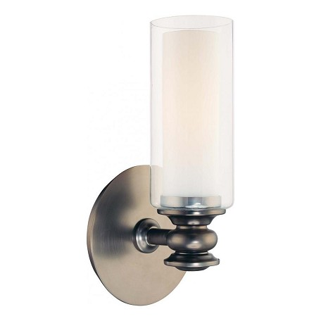 Minka-Lavery Harvard Ct. Bronze 1 Light Wall Sconce From The Harvard Court Collection