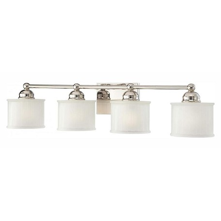 Minka-Lavery Polished Nickel 1 Light Bathroom Vanity Light From The 1730 Series Collection