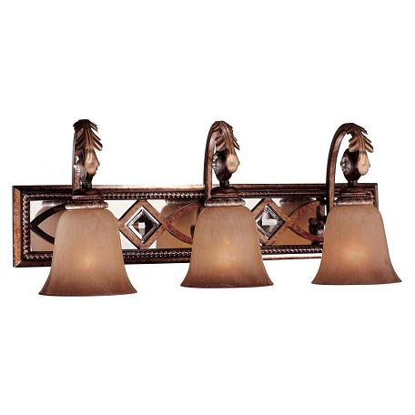 Minka-Lavery Aston Court Bronze 3 Light Bathroom Vanity Light From The Aston Court Collection