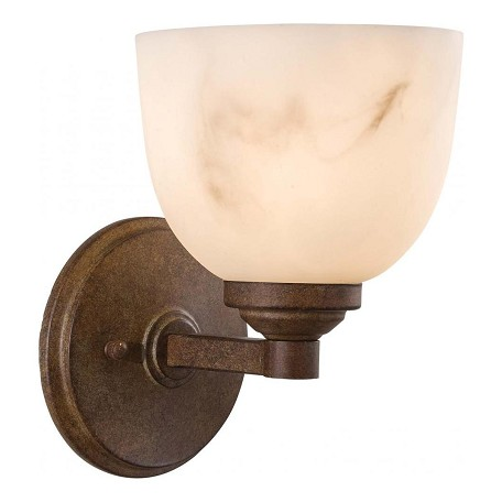 Minka-Lavery Nutmeg 1 Light Wall Sconce From The Calavera Collection