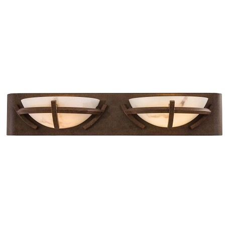 Minka-Lavery Nutmeg 2 Light Bathroom Vanity Light From The Calavera Collection