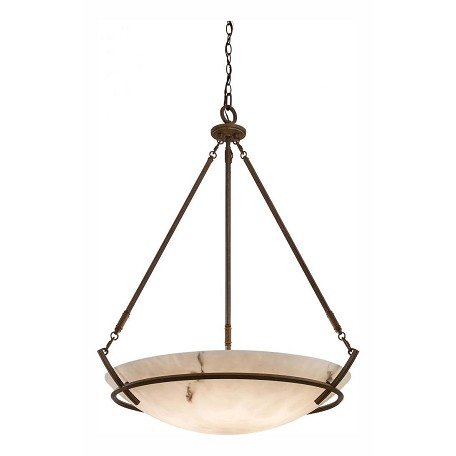 Minka-Lavery Nutmeg 5 Light Indoor Bowl Shaped Pendant From The Calavera Collection