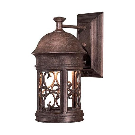 Minka Lavery Outdoor Wall Sconces : Minka-Lavery 1 Light Outdoor Wall Sconce With Rust Finish Vintage Rust 8281-A61 From Sage Ridge ...