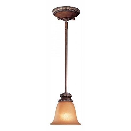 Minka-Lavery Belcaro Walnut 1 Light Indoor Mini Pendant From The Belcaro Collection