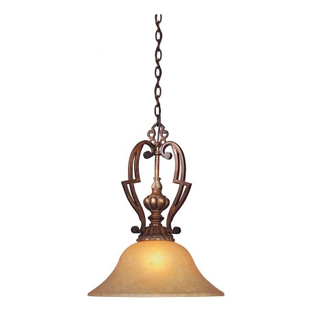 Minka-Lavery Belcaro Walnut 1 Light Indoor Full Sized Pendant From The Belcaro Collection