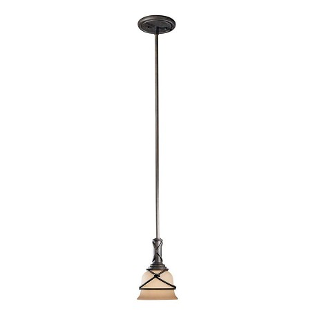 Minka-Lavery Aspen Bronze 1 Light Indoor Mini Pendant From The Aspen Collection