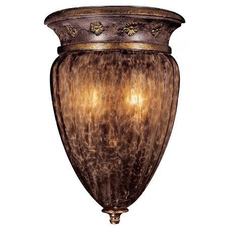 Minka Metropolitan Sanguesa Patina 2 Light Lantern Wall Sconce From The Sanguesa Collection