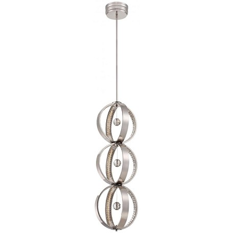Minka Metropolitan 309 Light Polished Nickel Clear Crystal Accents Glass Up Chandelier