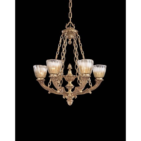 Minka Metropolitan French Gold 6 Light 1 Tier Chandelier From The Vintage Collection