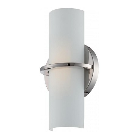 Nuvo Tucker - Led Wall Sconce  W/Etched Opal Glass