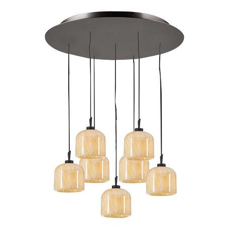 PLC Lighting 7 Light Pendant Cuttle Collection