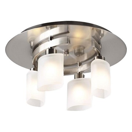 PLC Lighting 4 Light Ceiling Light Wyndham Collection
