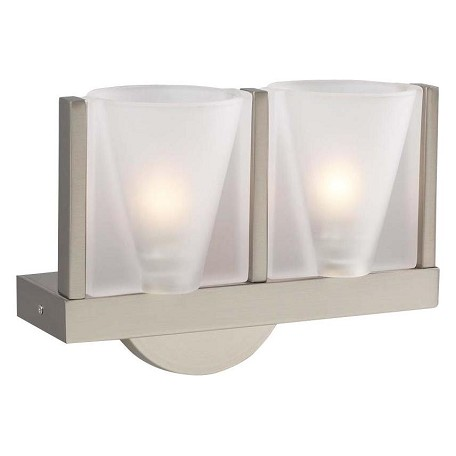 PLC Lighting 2 Light Sconce Bilbao Collection