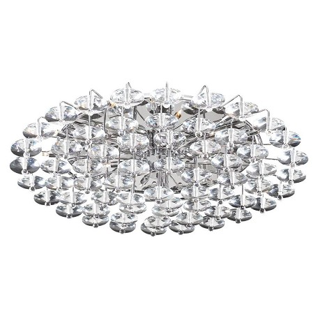 PLC Lighting 18 Light Ceiling Light Diamente Collection