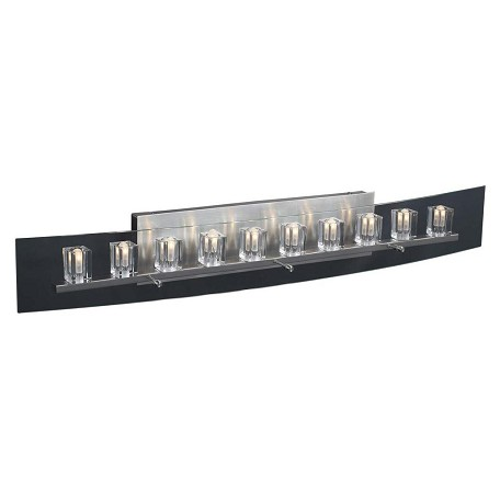 PLC Lighting 10 Light Vanity Ice Cube Collection