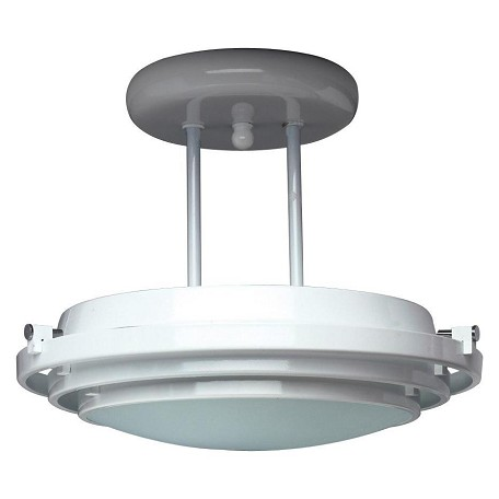 PLC Lighting 1 Light Semi Flush Mount Cascade Collection