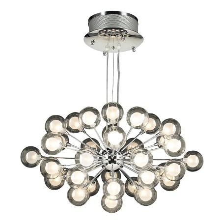 PLC Lighting 37 Light Chandelier Coupe Collection