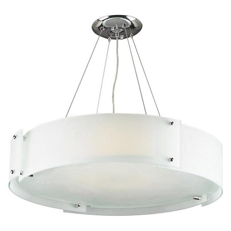 PLC Lighting 6 Light Chandelier Logan Collection