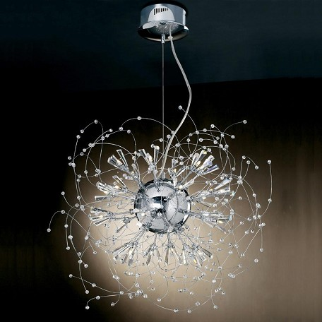 PLC Lighting 25 Light Chandelier Empire Collection