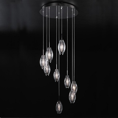 PLC Lighting 9 Light Chandelier Wrap Collection