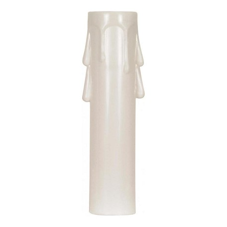 Satco Products Inc. 4In. Candelabra Drip Plastic Candle Cover