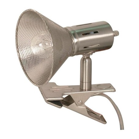 Satco Products Inc. Nickel Desk Lamp