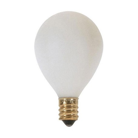 Satco Products Inc. 10 Watt; G12 1/2; Satin White; 1500 Average Rated Hours; 60 Lumens; Ca