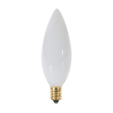 Satco Products Inc. 40 Watt; Ba9 1/2; White; 1500 Average Rated Hours; 328 Lumens; Candela